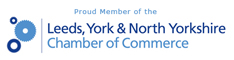 We are members of York and North Yorkshire Chamber of Commerce